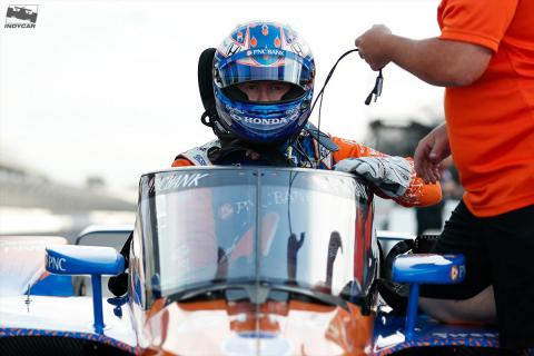 IndyCar debuts Aeroscreen on track with Dixon, Power