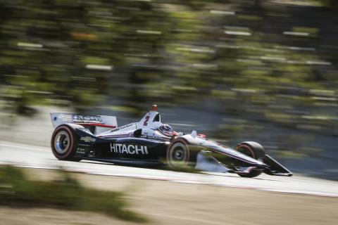 Herta wins Laguna Seca, Newgarden holds on for IndyCar title