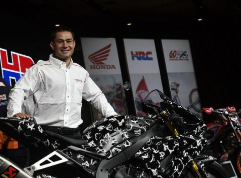 Haslam: New Honda means we're looking at a big challenge