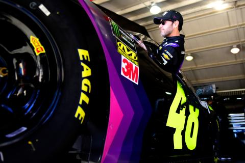 Jimmie Johnson wins Texas pole after dominating session