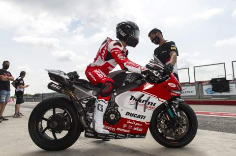 Melandri 'ready to give his all' in WorldSBK comeback