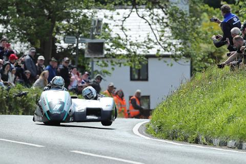 Ben and Tom Birchall, Isle of Man TT,
