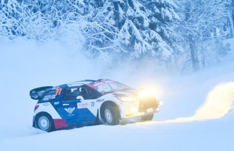 Bottas finishes ninth place at Arctic Lapland Rally