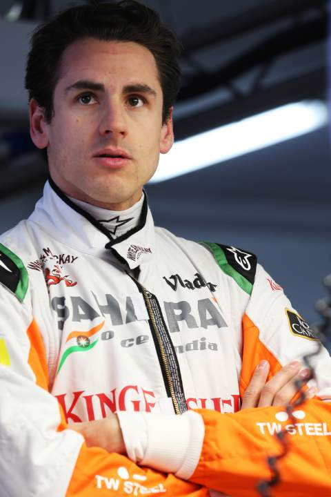 Adrian Sutil GER Sahara Force India F101032013
