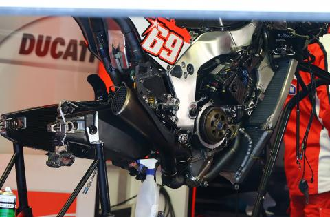 Hayden: Carbon frame had a lot of potential