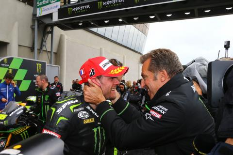 Crutchlow, and Poncharal, MotoGP race, French MotoGP 2013