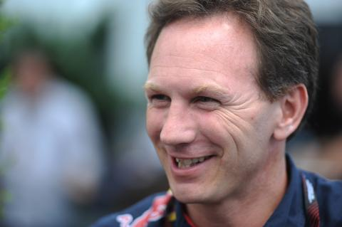 09.06.2013- Race, Christian Horner (GBR), Red Bull Racing, Sporting Director