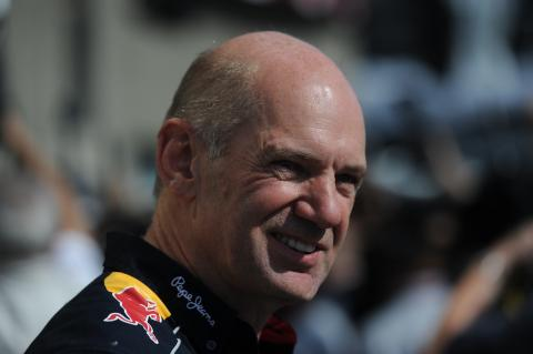 09.06.2013- Race, Adrian Newey (GBR), Red Bull Racing , Technical Operations Director
