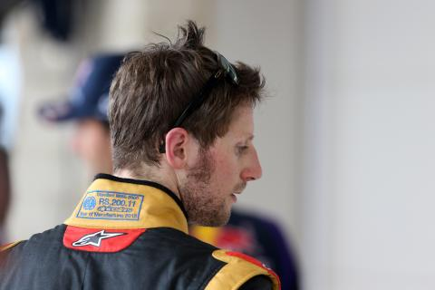 Romain Grosjean, Lotus - Q&A