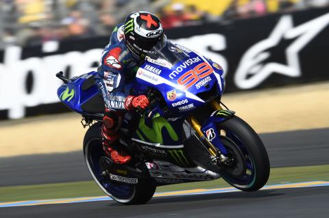 Lorenzo holds off Rossi at Le Mans