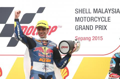Moto3: Title battle lives on as Oliveira wins, Kent 7th