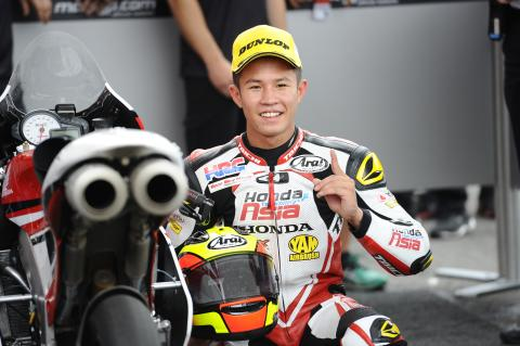 Moto3: Rookie Pawi splashes to second win