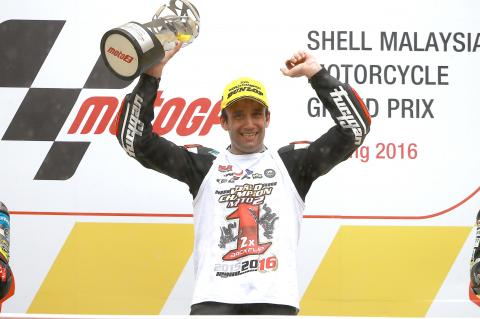 Moto2: Zarco retains title in style with Sepang victory
