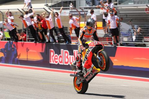 Marquez, MotoGP race, Grand Prix of the Americas, 2017.