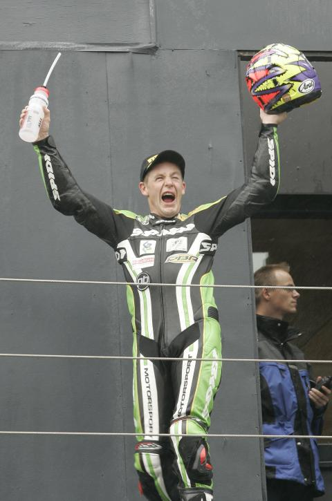 Walker wins, Assen WSBK Race 1, 2006