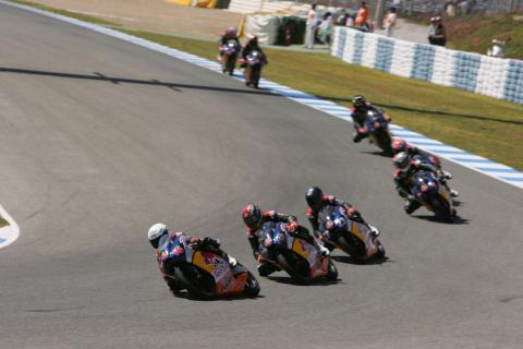 Red Bull Rookies, Spanish MotoGP 2007