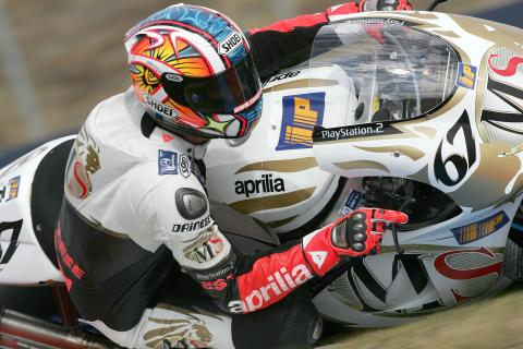 Updated: McCoy gets Aprilia ride!