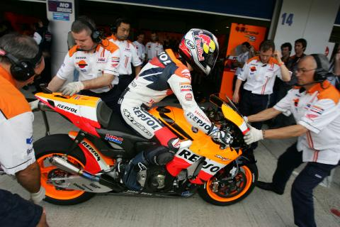 Q&A: Pedrosa's suspension technician.