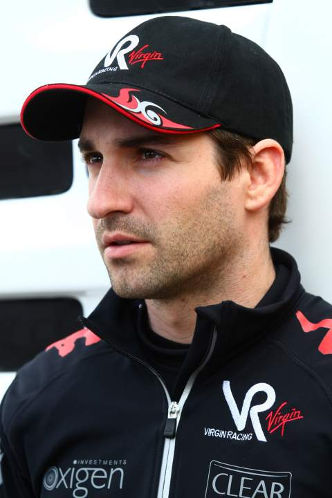 11.02.2010 Jerez, Spain, Timo Glock (GER), Virgin Racing - Formula 1 Testing, Jerez, Spain