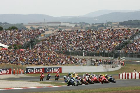 Start, Catalunya MotoGP Race 2005