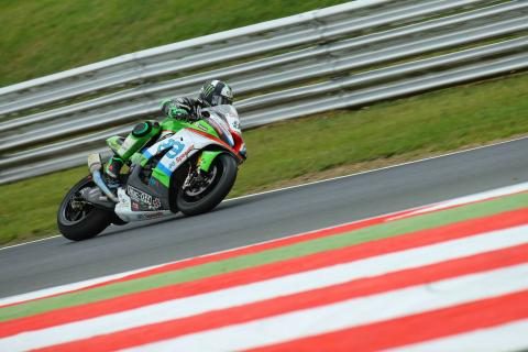 Haslam ends Dixon's winning run at Knockhill