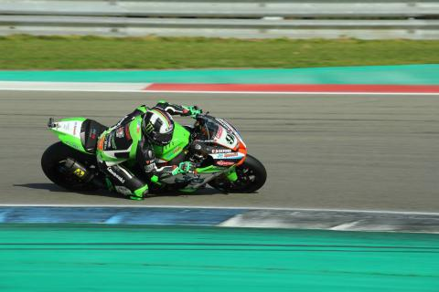 Haslam keeps clear of Dixon in Assen opener