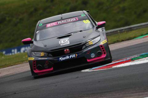 Cook charges to race two Thruxton win