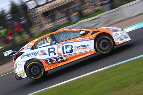 Butcher defeats Jordan for home BTCC victory