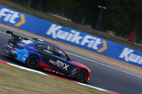 Turkington eases to race two victory