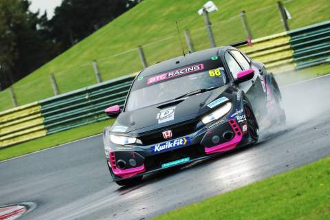 Cook awarded race two after last lap Neal contact