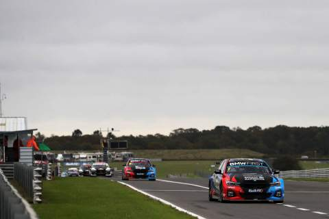 Turkington moves into BTCC lead with race two win