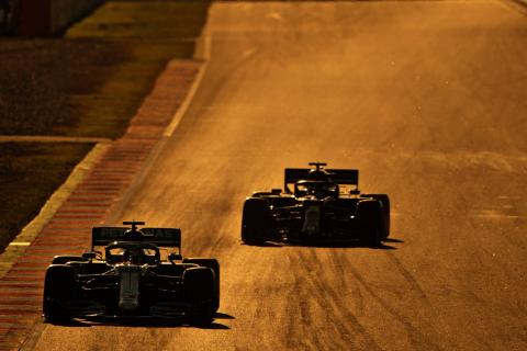 Barcelona F1 Test 1 - Combined Results