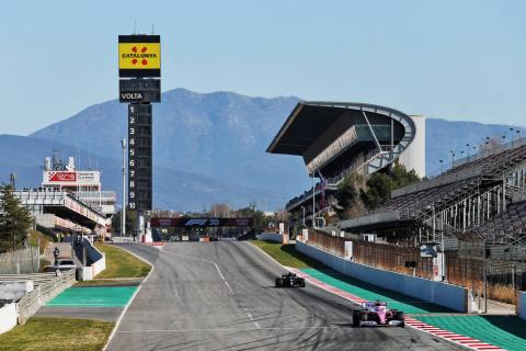 Barcelona F1 Test 2 Day 1 - Wednesday 12Noon Results