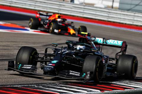 Bottas ends F1 winless streak with Russian GP victory as Hamilton hit by penalty