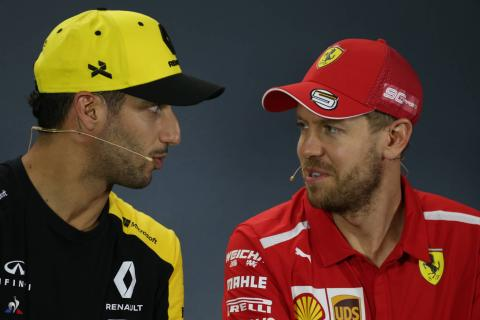 Ricciardo wants 'hungry and competitive' Vettel to race on in F1 2021