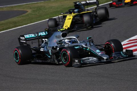 Bottas scores dominant Japanese GP victory, Mercedes seals title