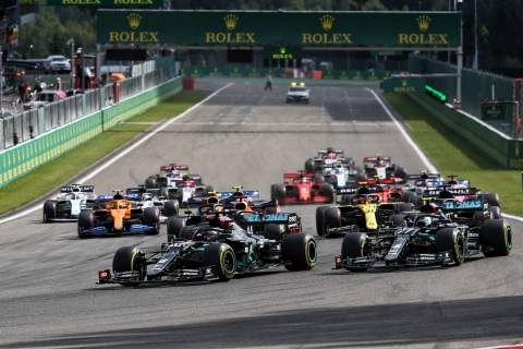 F1 Belgian Grand Prix 2020 - Race Results