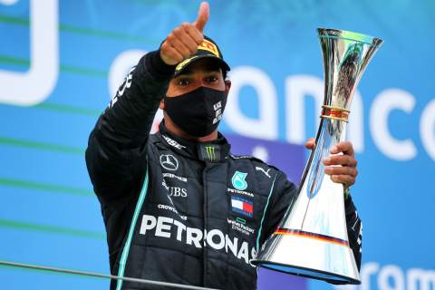 'I'm not done yet' - Hamilton warns more to come after matching F1 record
