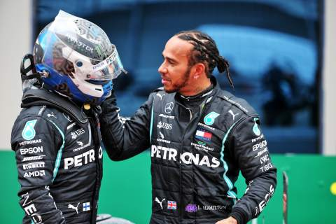"Bottas says there was ""not a lot"" between him and Hamilton in F1 2020"