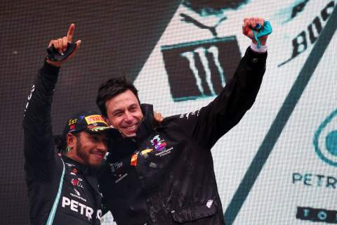 Hamilton welcomes Wolff extension, 2021 F1 contract talks yet to start