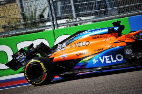 Carlos Sainz sorry for causing McLaren 'unnecessary stress' with F1 crash