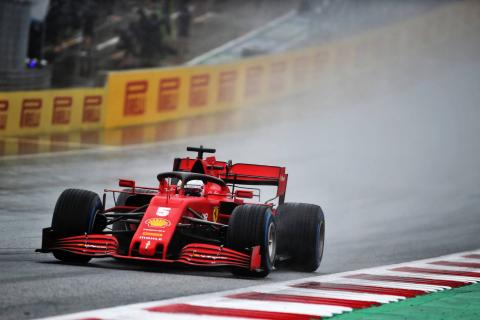 Vettel expected more from Ferrari F1 in wet conditions