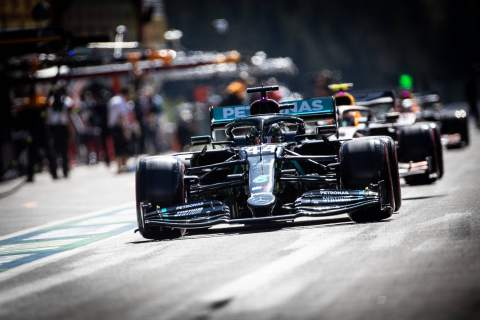 F1 Belgian Grand Prix 2020 - Starting Grid