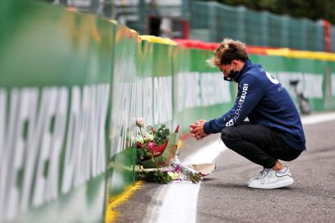 F1 remembers lost star Hubert 12 months on from tragedy