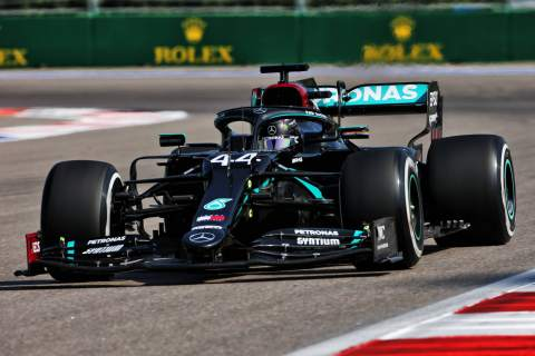 """Hamilton has """"a lot of work to do"""" to catch up with Bottas at F1 Russian GP"""