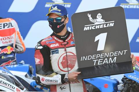 Takaaki Nakagami, Aragon MotoGP race. 18 October 2020