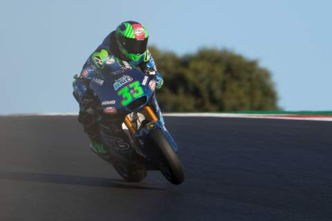 Enea Bastianini, Moto2, Portuguese MotoGP, 20th November 2020