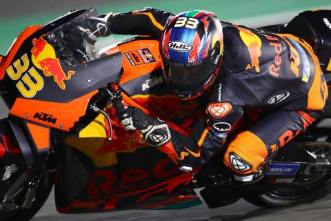 Brad Binder Qatar MotoGP test, 6 March 2021
