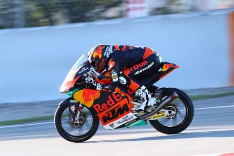 Raul Fernandez, Moto3, Calatunya MotoGP, 25 September 2020