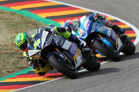 Granado wins from Garzo, Smith to set up MotoE title decider